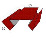 Планка угла внутреннего сложного 2 фото