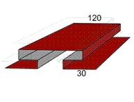 Планка стыковочная сложная фото